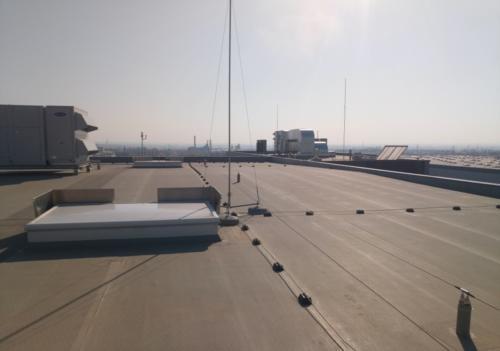 Instalacja odgromowa hali logistycznej
