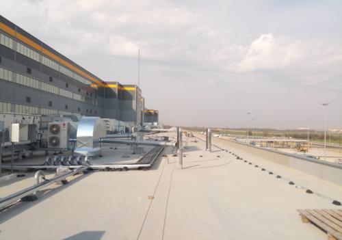 System klimatyzacji hali