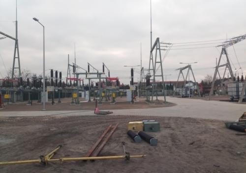 Przebudowa stacji transformatorowej